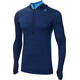 Aclima M's LightWool Hoodie insignia blue/blithe